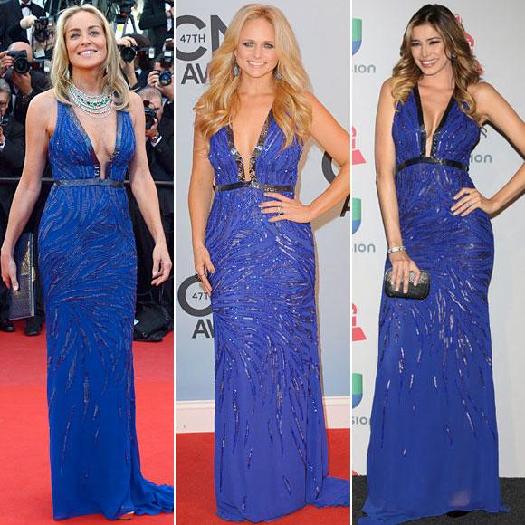 Sharon Stone, Miranda Lambert, Aída Yéspica, Dos mujeres