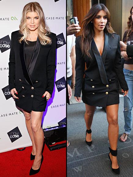 FERGIE, KIM Kardashian, Dos mujeres