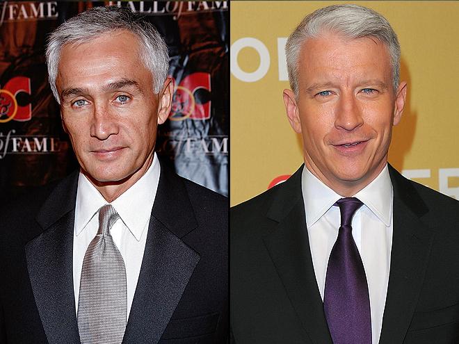 Jorge Ramos, Anderson Cooper, Separados al nacer