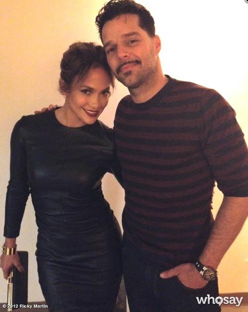 Jennifer López, Ricky Martin