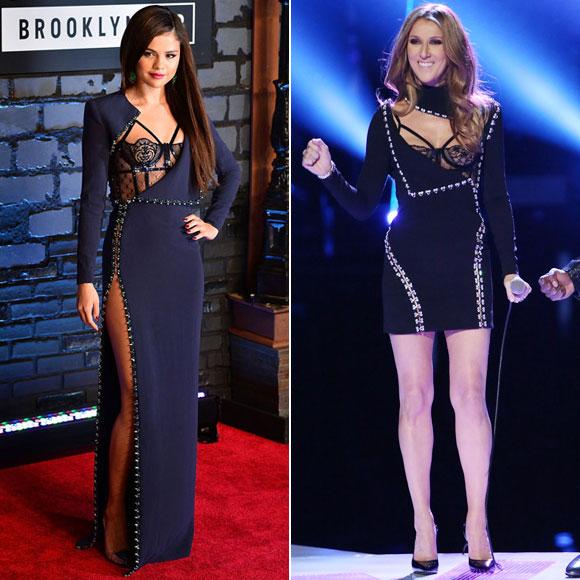 Celine Dion, Selena Gómez, dos mujeres