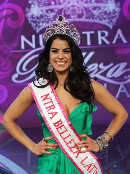 Vanessa de Roide ganadora de Nuestra Belleza Latina 2012