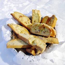 Biscotti crujiente de avellana