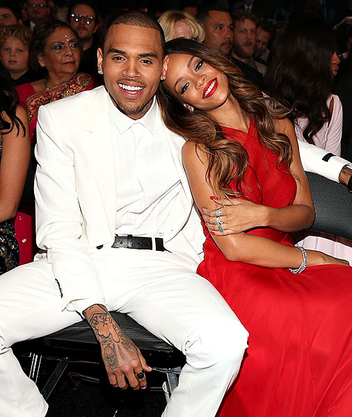 Rihanna, Chris Brown, Grammy 2013