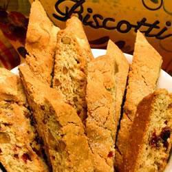 Biscotti de arándano y almendra