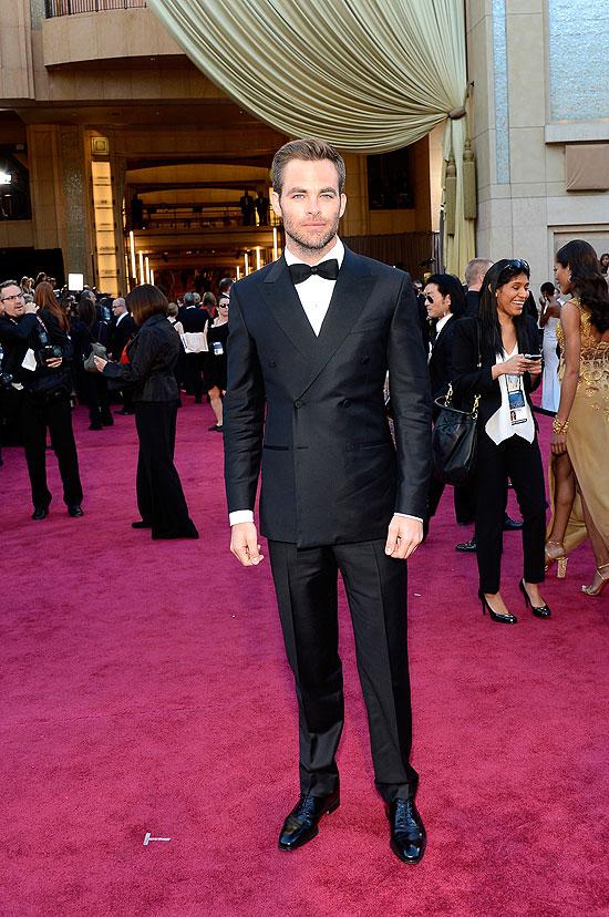 Chris Pine, Oscar 2013
