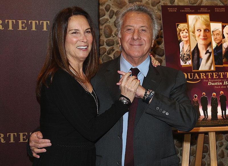 Dustin Hoffman, Lisa Gottsegen, parejas duraderas