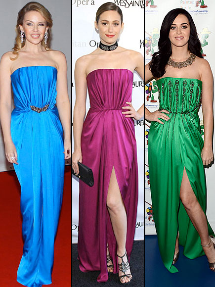 Kylie Minogue, Emmy Rossum, Katy Perry