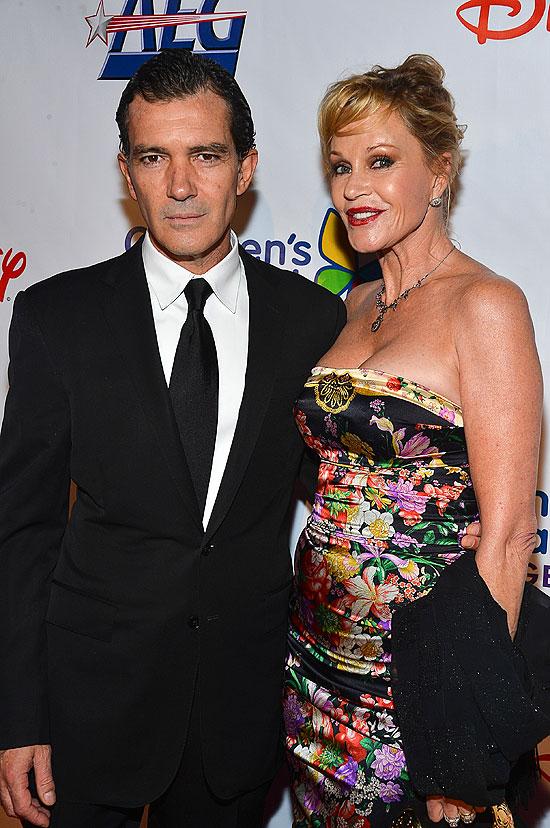 Antonio Banderas, Melanie Griffith, parejas duraderas