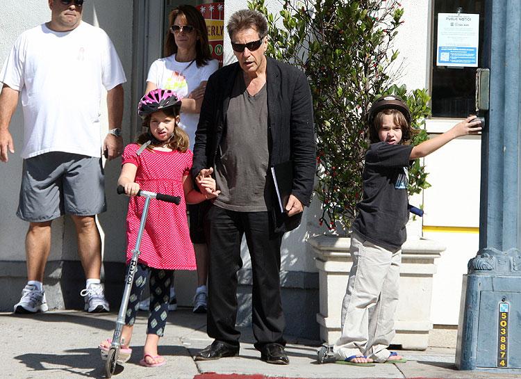 Al Pacino, Olivia, Anton, embarazos de gemelos