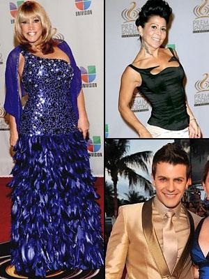 Peor vestidos Premio Lo Nuestro 2012