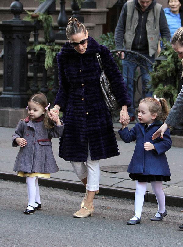 Sarah Jessica Parker, Marion,Tabitha, embarazo de gemelos