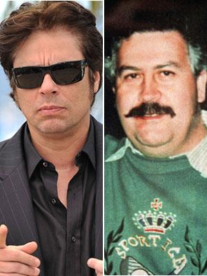 Benicio del Toro, Pablo Escobar