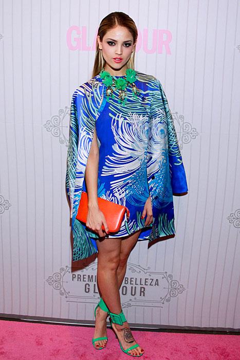 EIZA GONZÁLEZ, Fashionable telenovela stars
