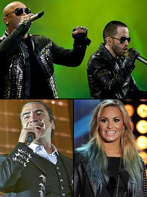 Alejandro Fernández, Wisin y Yandel, Demi Lovato, Festival 2013