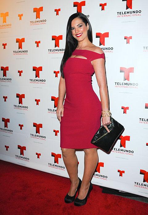 GABY ESPINO, Fashionable telenovela stars