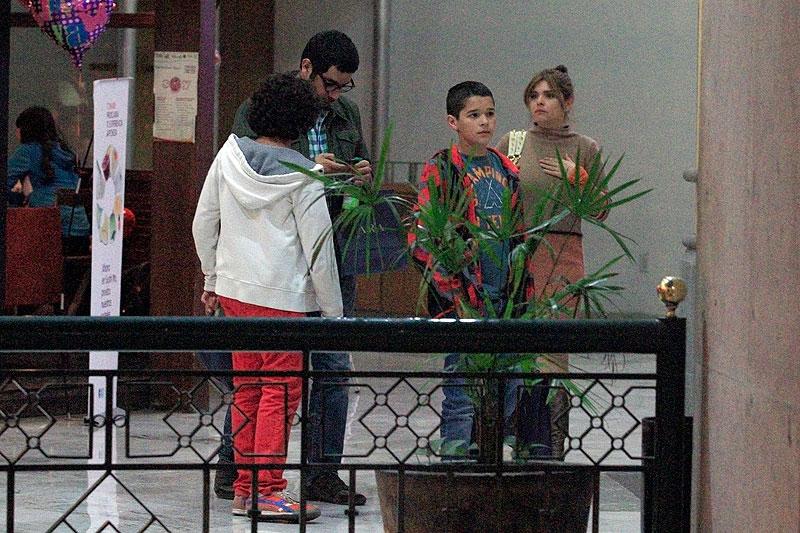 Itatí Cantoral, Carlos Alberto Cruz, Eduardo, Roberto, Míralos