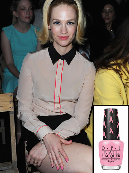January Jones, Nails, Tips de Kika