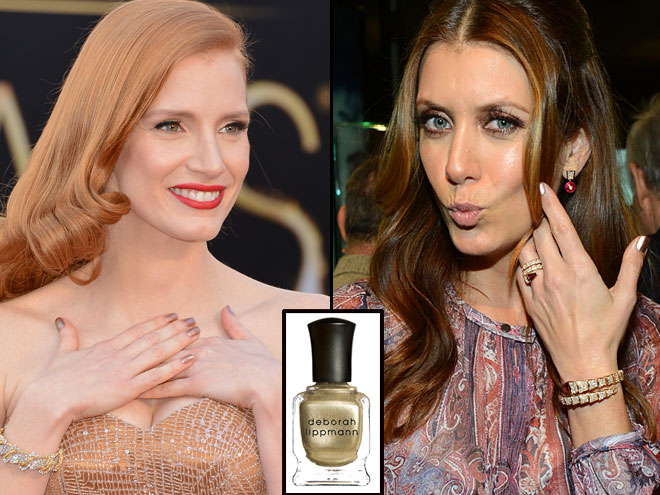 Jessica Chastain, Kate Walsh, Nails, Tips de Kika