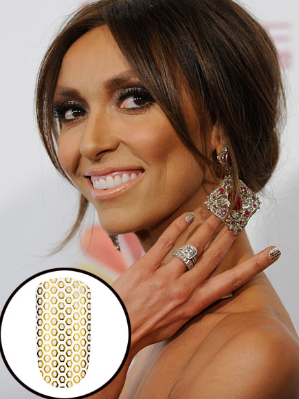 Giuliana Rancic, nails, tips de kika