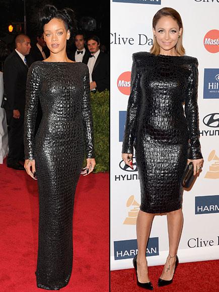 Rihanna, Nicole Richie, Dos mujeres