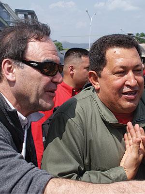 Oliver Stone, Hugo Chávez