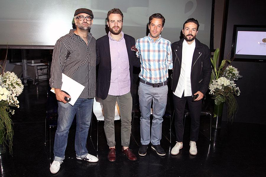 Maximiliano Villegas, Héctor Falcón, Pedro Abascal, José María Torre, Míralos