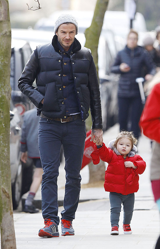 David Beckham, Harper Seven Beckham, Míralos