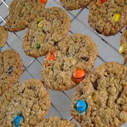 Galletas del monstruo come galletas