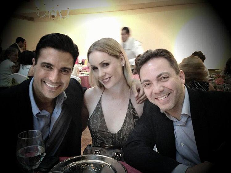 Jaime Camil, Heidi Balvanera, Cristian Castro