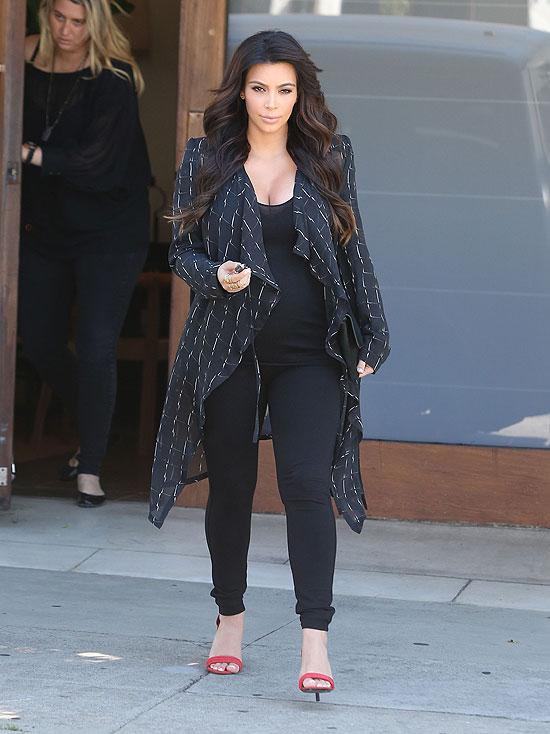 Kim Kardashian, bebés