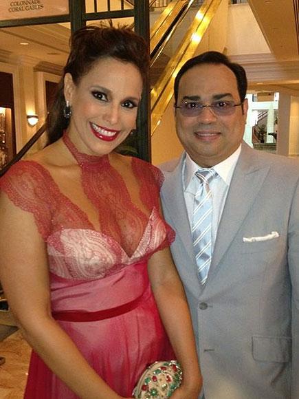 Gilberto Santa Rosa, Alexandra Malagón