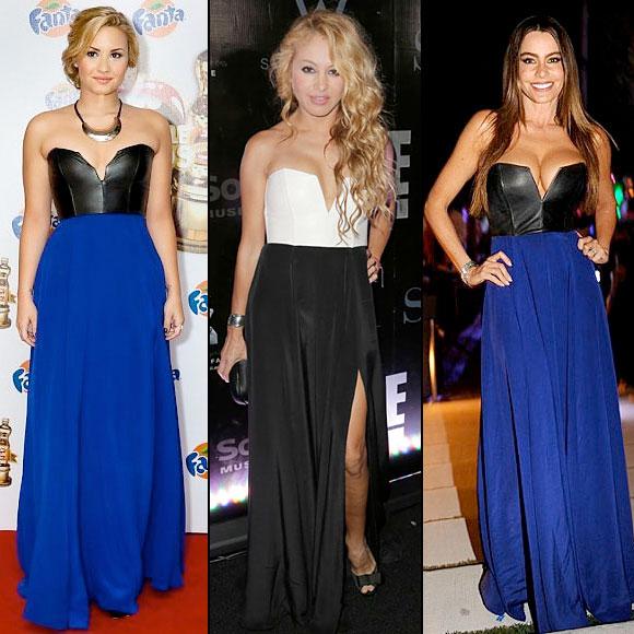 Demi Lovato, Sofía Vergara, Paulina Rubio, Dos mujeres