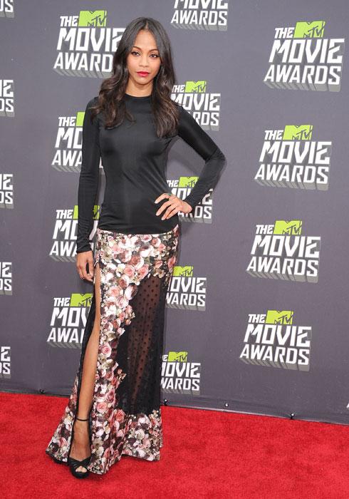 ZOË SALDAÑA, MTV Movie Awards