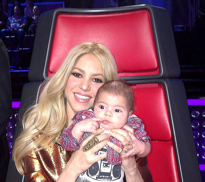 Shakira, Milan cumple tres meses