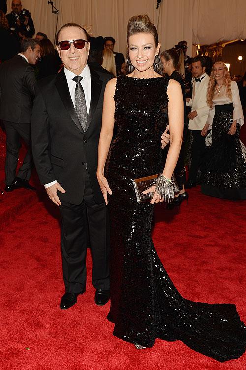 Thalía, Tommy Mottola, gala, Met