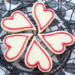 Glaseado fácil para galletas