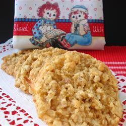 Galletas de cereal con coco y nuez