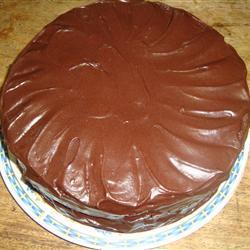 Pastel de chocolate con chile