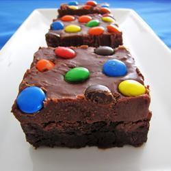 Betún de chocolate para brownies