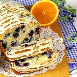 Panqué de blueberries