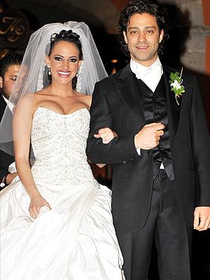 Ari Borovoy y su esposa Arlett Kalach