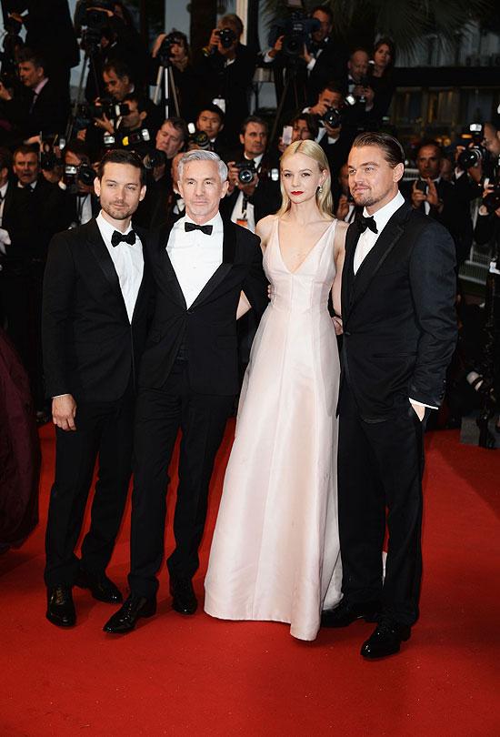 Tobey Maguire, Baz Luhrmann, Carey Mulligan, Leonardo DiCaprio