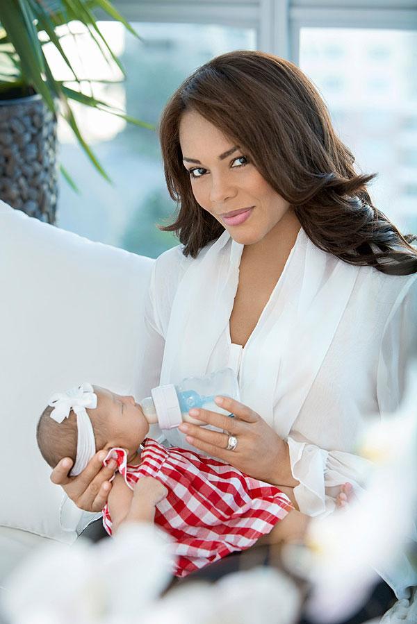 Ilia Calderón, hija, hijita, Anna