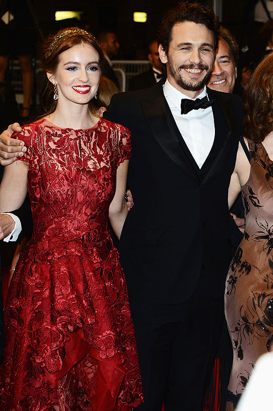 James Franco, Ahna O'Reilly