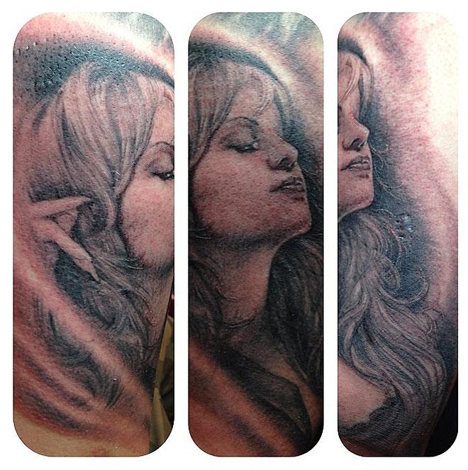 Michael Lopez, tatuaje, Jenni Rivera