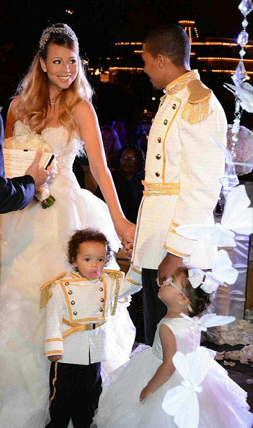 Mariah Carey, Nick Cannon, votos matrimoniales