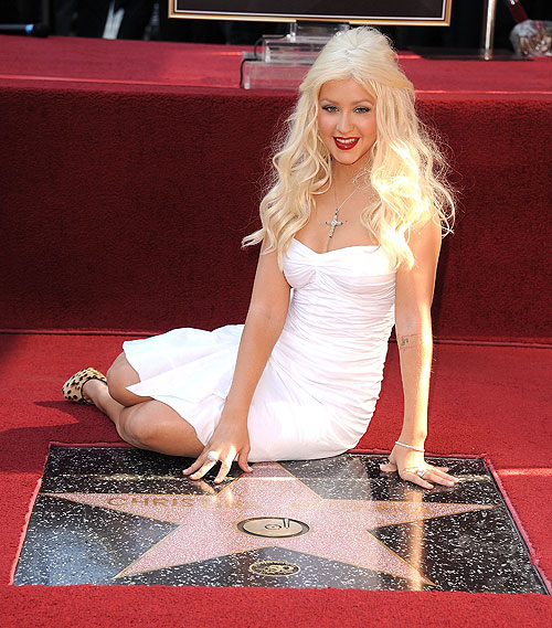 Christina Aguilera, Estrella Hollywood