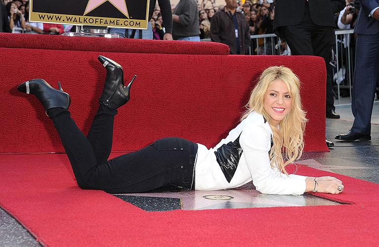 Shakira, Estrella Hollywood