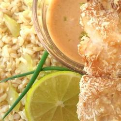Salsa oriental de cacahuate